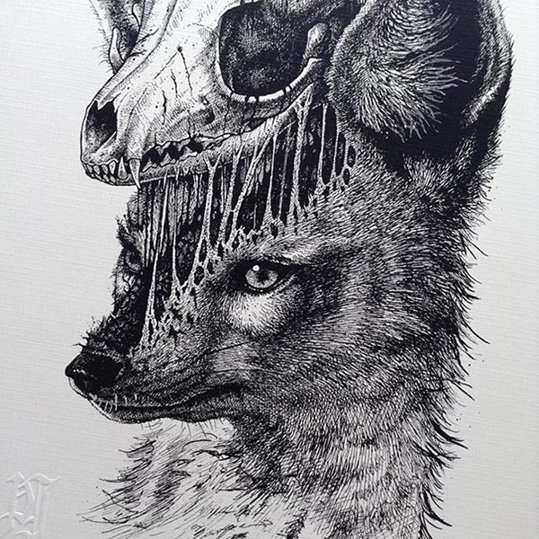 Paul Jackson Creates Beautifully Creepy Illustrations
