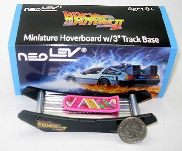 back to the future mini hoverboard box