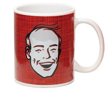 bald head heat changing mug bald
