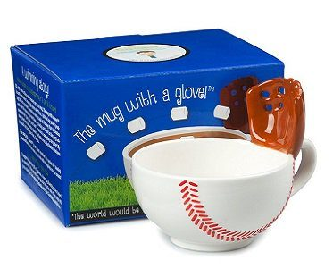 baseball mug with glove box