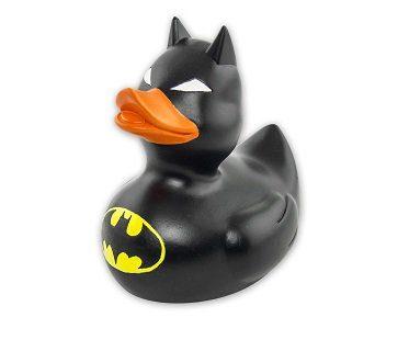 batman rubber duck black