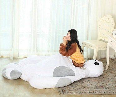big hero 6 baymax bed sleeping bag