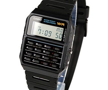 calculator watch casio