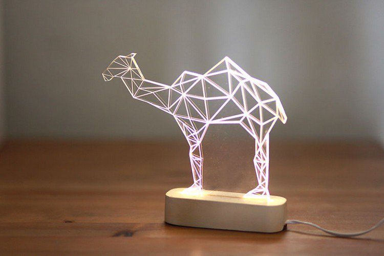 camel night light