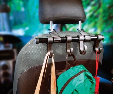 car headrest multi-hanger bags