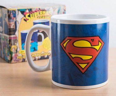 clark kent superman heat changing mug box
