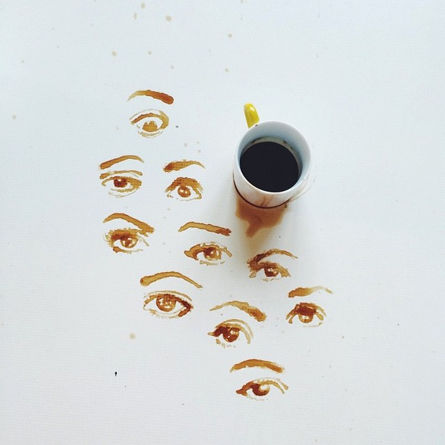 coffee eye