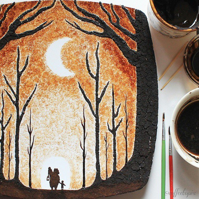 coffee forest moon