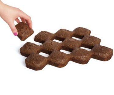 crispy corners brownie pan pull apart