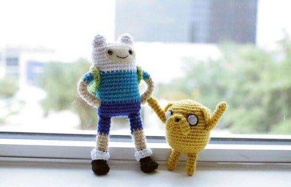 crochet adventure time