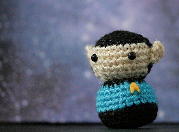 crochet spock
