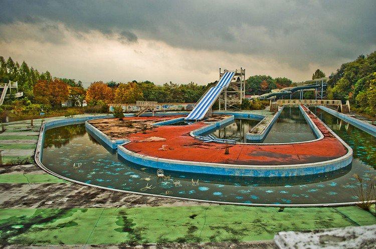 disused chute pool
