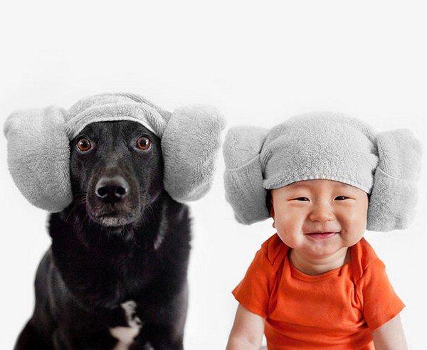 dog baby towel hats
