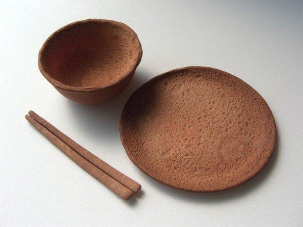 edible tableware set