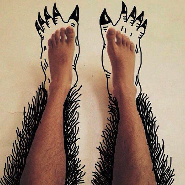 feet-claws