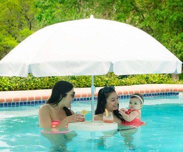 floating pool umbrella