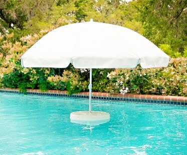 floating pool umbrella drinks holder