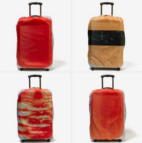 four sushi bags