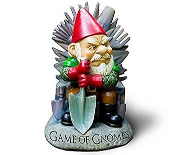 game of gnomes garden gnome throne