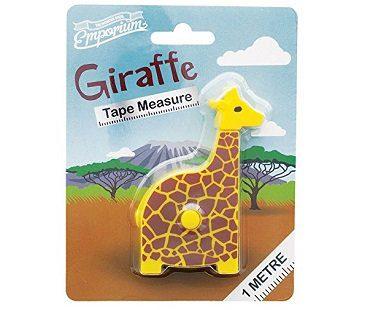 giraffe tape measure pack
