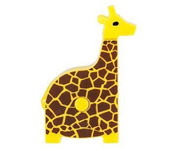 giraffe tape measure yellow