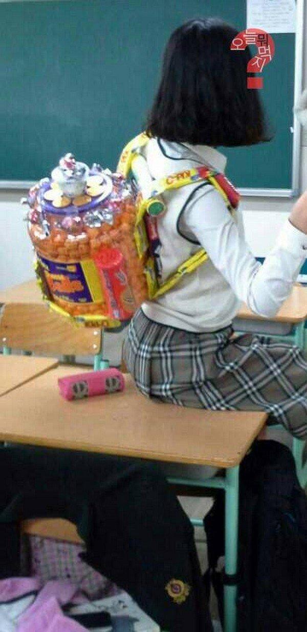 girl tub snackpack