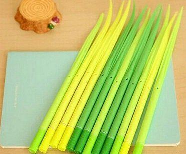 grass blade pens green ballpoint