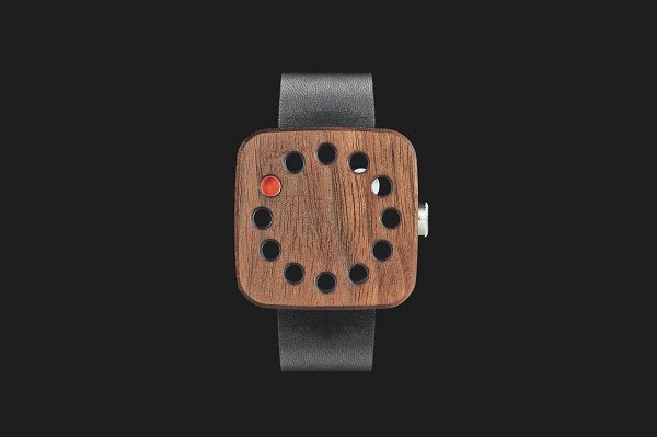 grovemade wood watch square