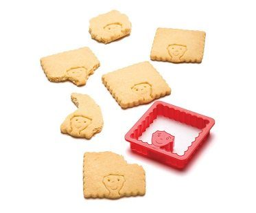 hairdo cookie cutter biscuit