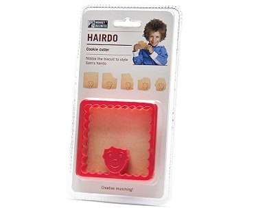 hairdo cookie cutter pack
