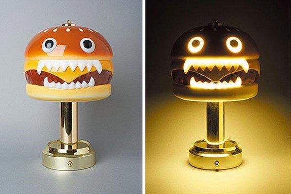 hamburger lamps