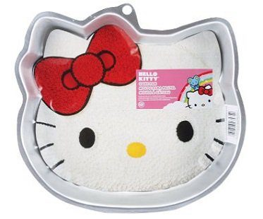 hello kitty cake pan tin
