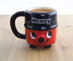 henry the hoover mug