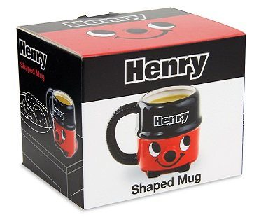 henry the hoover mug box