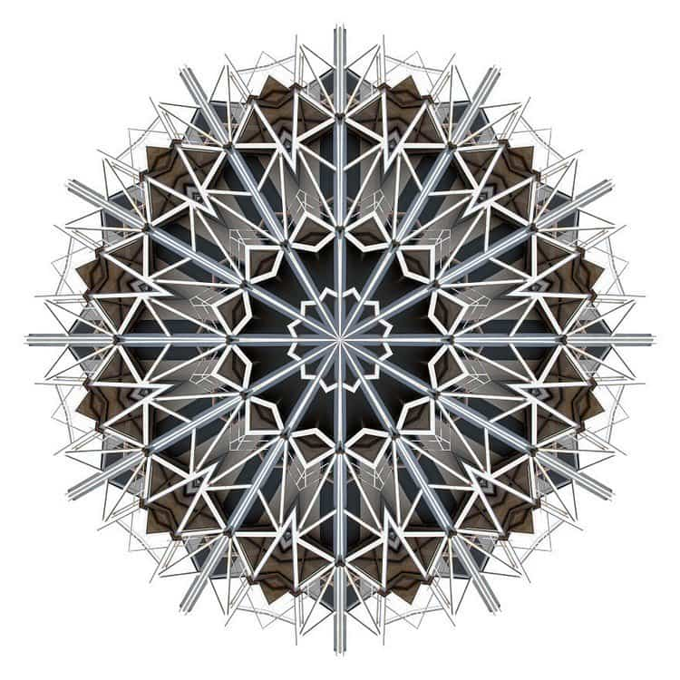 kaleidoscope building