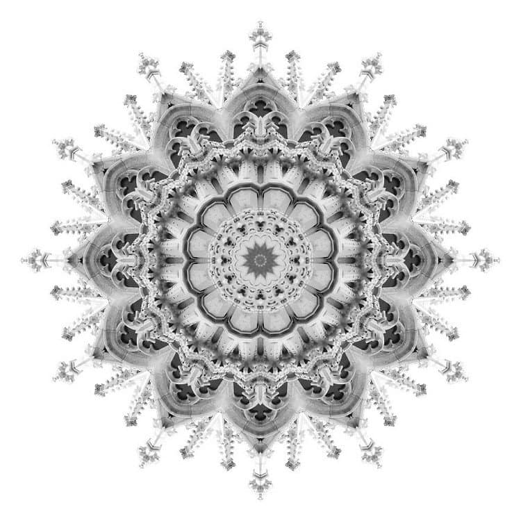 kaleidoscope fancy architecture