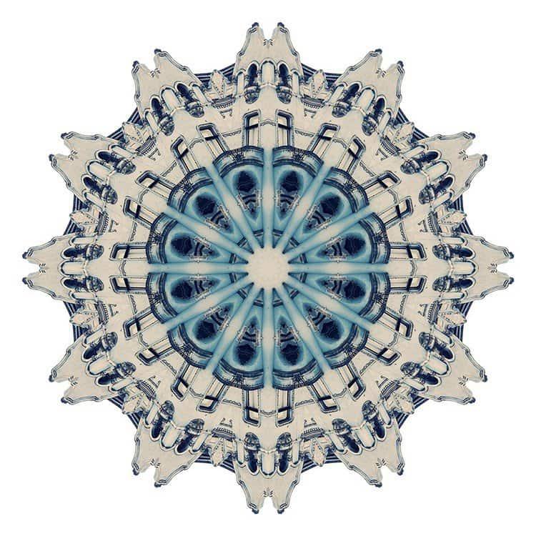 kaleidoscope pattern architecture