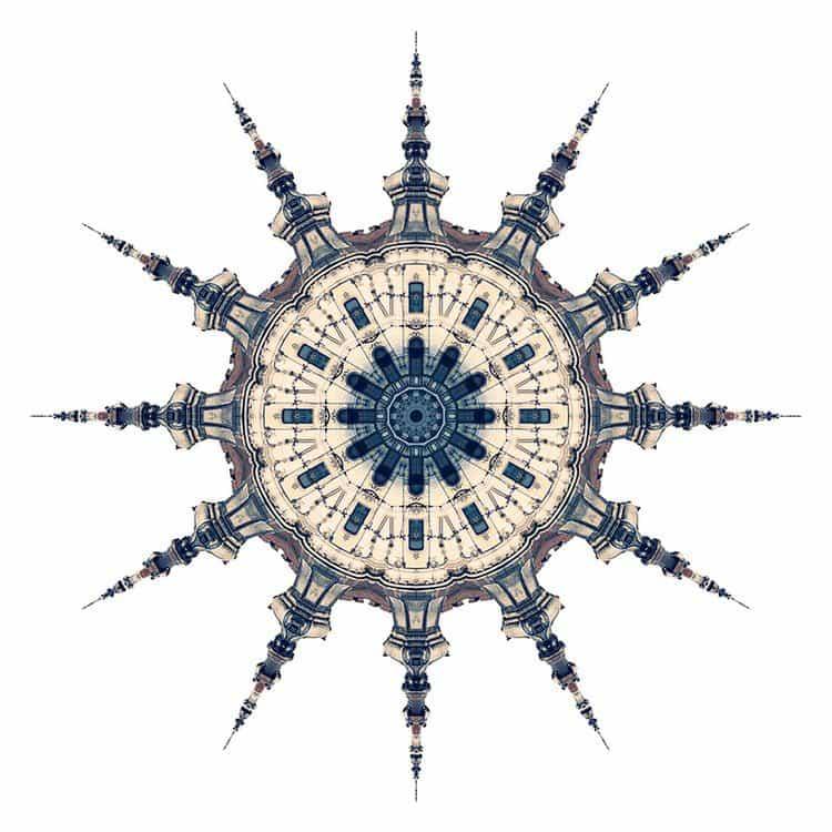 kaleidoscope spire building