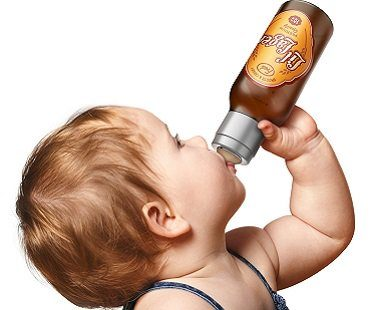 lager baby bottle