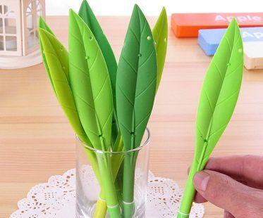 leaf pens