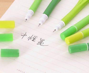 leaf pens green