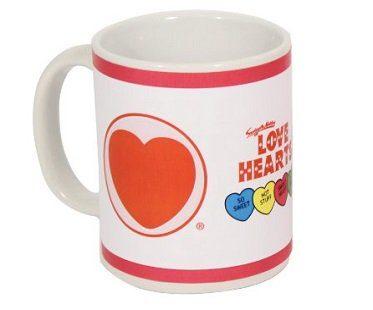 love hearts heat changing mug sweets