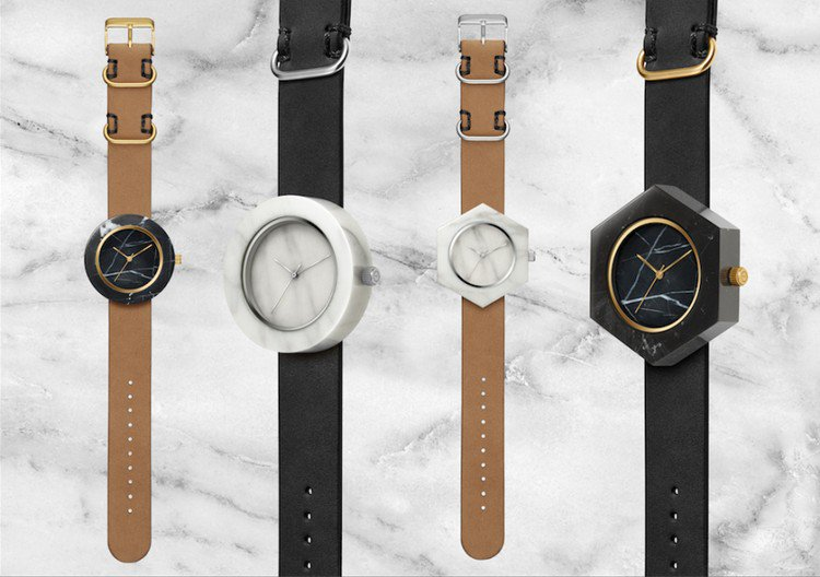 marble face watches
