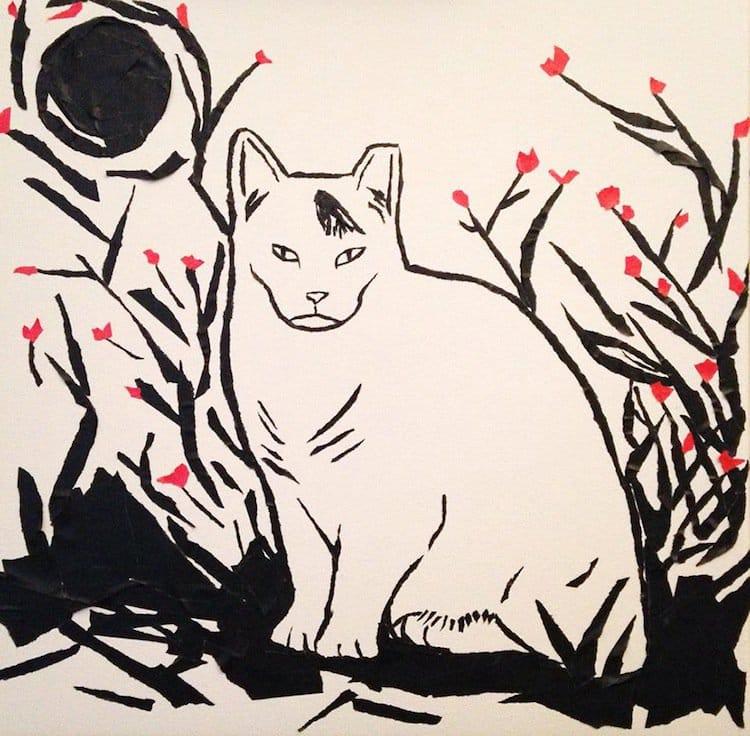 masking-cat