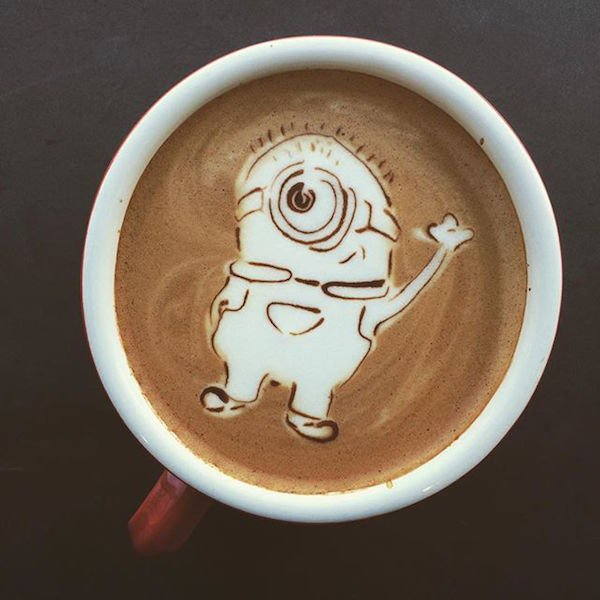 minion-latte-art-wave