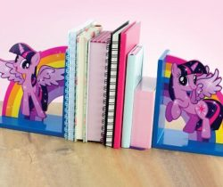 my little pony bookends