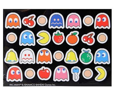 pac-man magnets ghosts