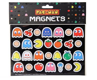 pac-man magnets pack