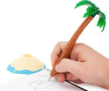 palm tree pen