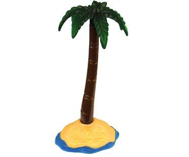 palm tree pen stand
